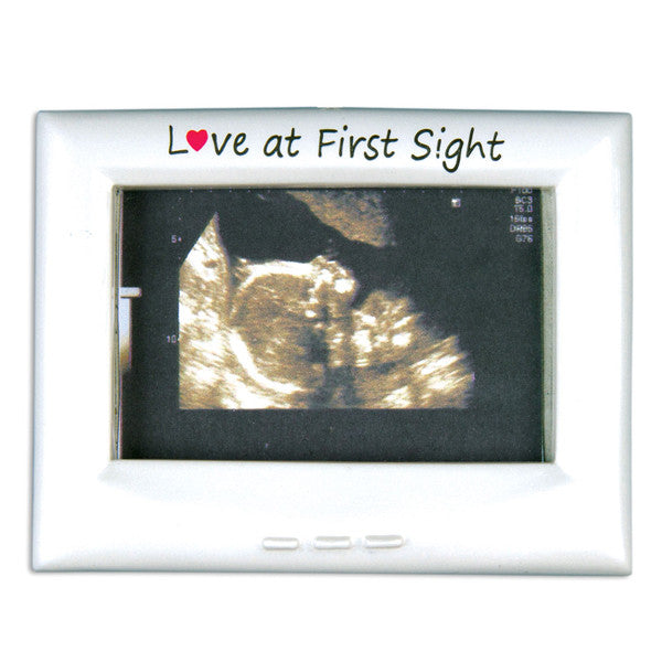 PF1018 - Ultra Sound Frame Personalized Christmas Ornaments
