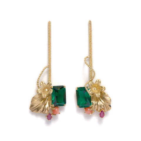 Tropical Earrings by Nina Oikawa