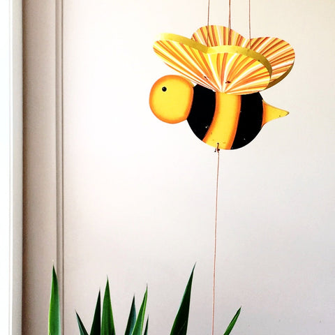 Bumble Bee Flying Mobile - Unique Handmade Gift