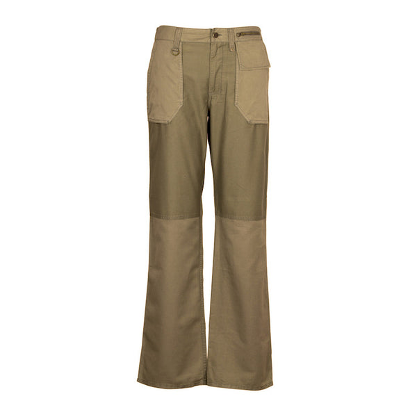 Fabulloso Dual Coloured Cargo Pants Military Green