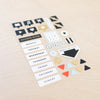 Click Edition Chipboard Stickers