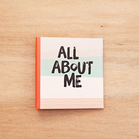All About Me 6x8 Album - Pocket Scrapbooking - 1