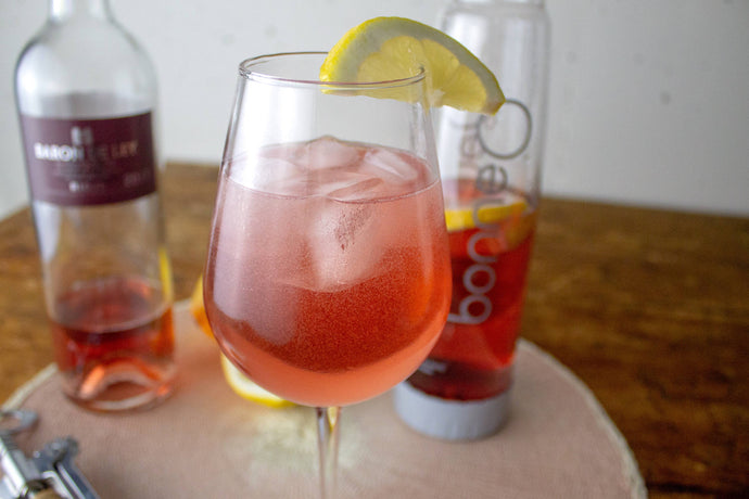 Make A Sparkling Rosé with Elderflower for Labor Day!