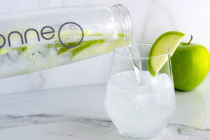Keep it simple with a Green Apple Sparkling Water