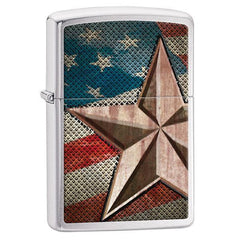 Personalized Zippo Retro Star Lighter -