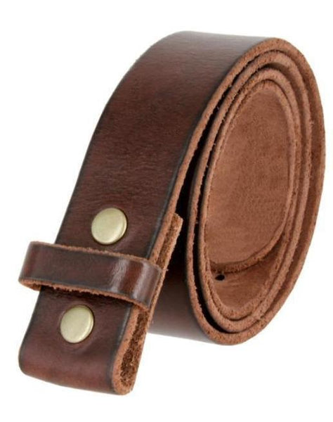 Leather Belt Strap (Changeable Buckle)