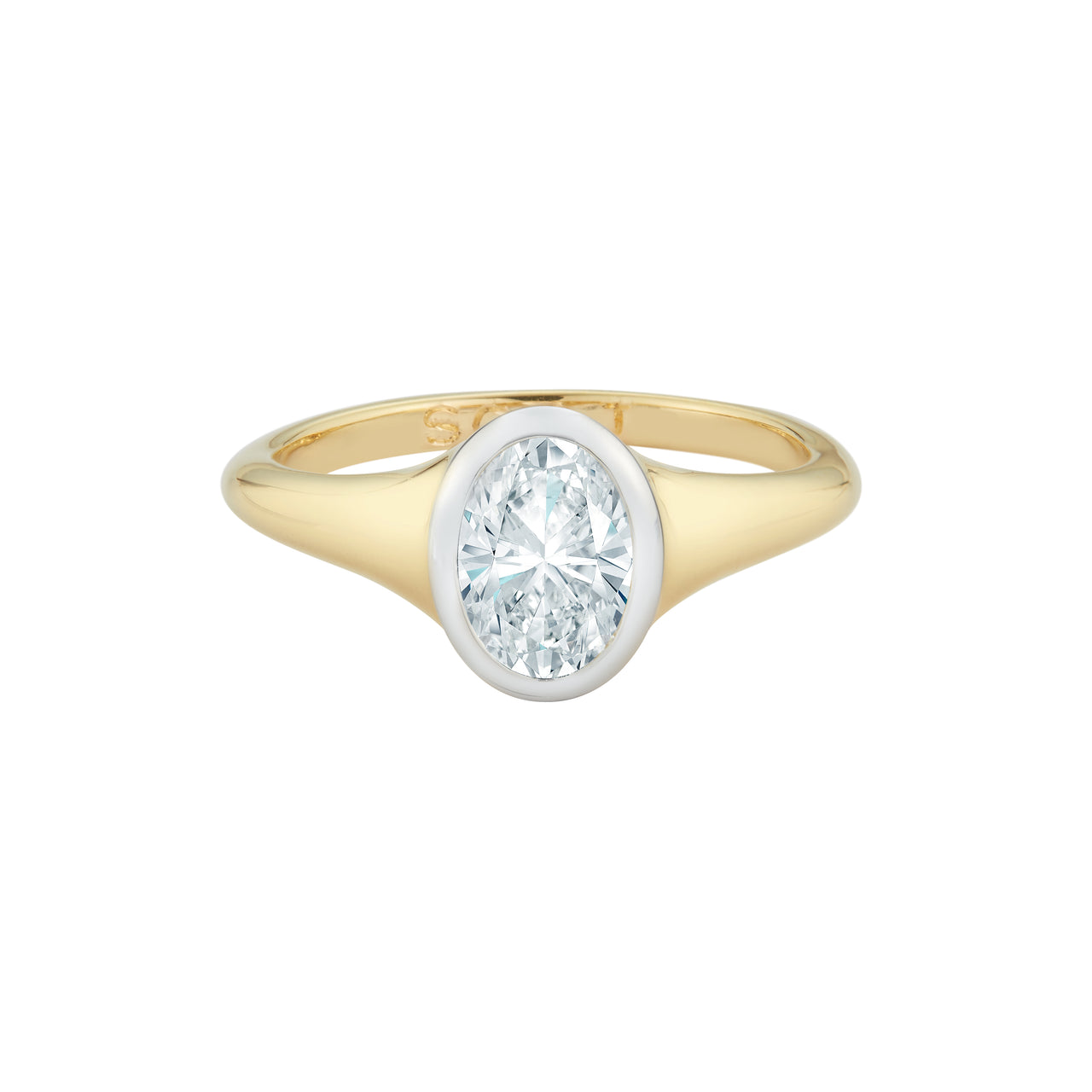 Oval Solaris Engagement Ring