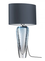 Heathfield Esme Sapphire Glass Table Lamp