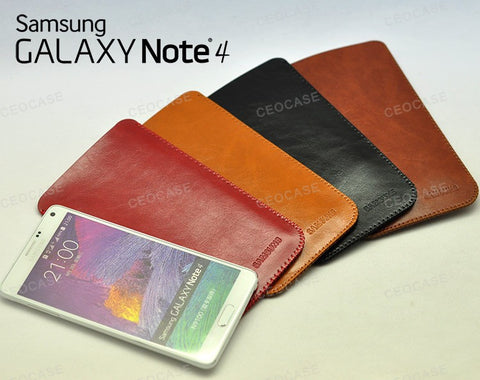 Samsung Galaxy NOTE 4 Pouch Protect Case very Slim & Light sleeve bag M-C14