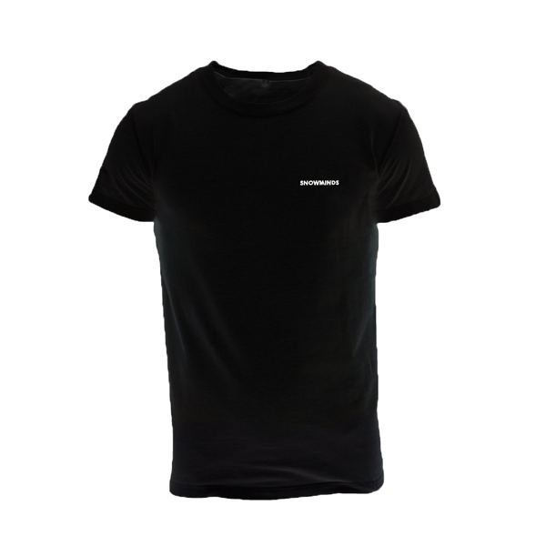 Snowminds Whistler Tee Black