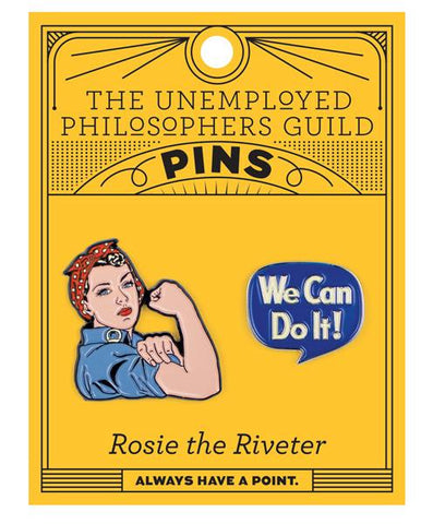 Rosie the Riveter Pin Set