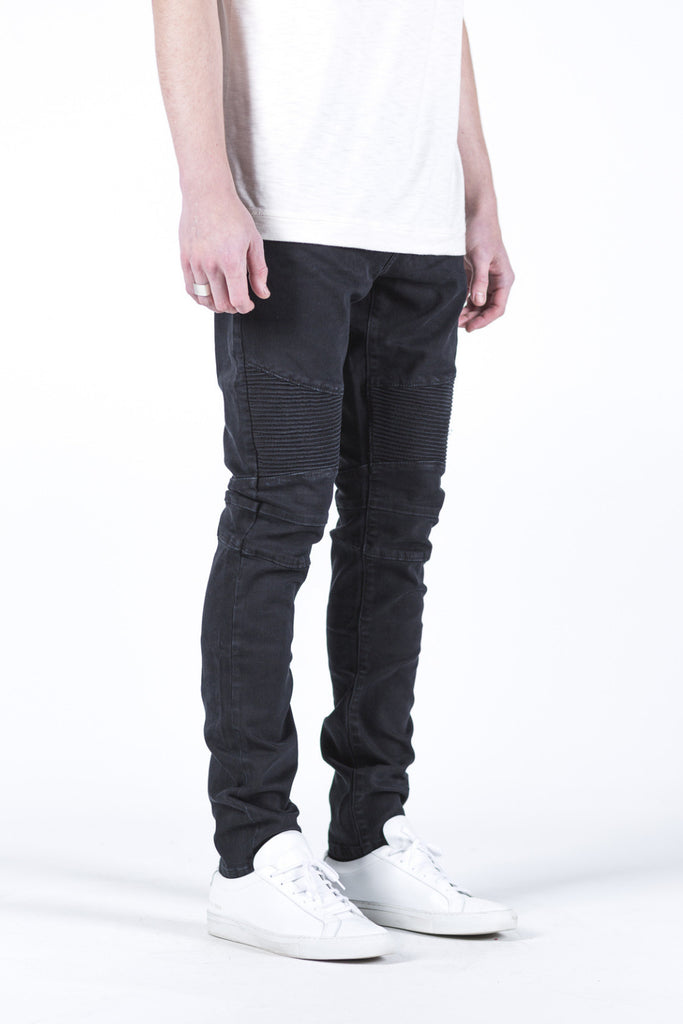 Permanent Collection Biker Denim - Black
