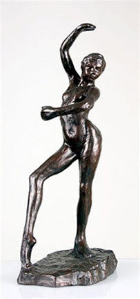 Museumize:Spanish Dancer Ballerina La Danse Espagnolle Nude Statue by Degas, Assorted Sizes,Large 16H / Bronze Finish