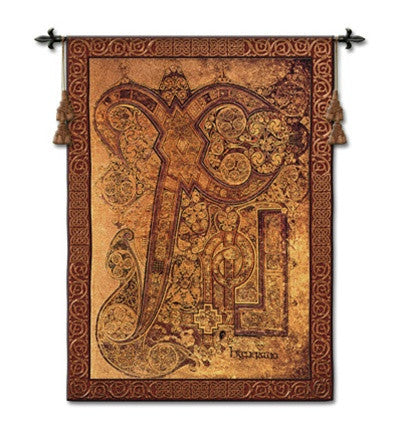 Museumize:Chi Rho Book of Kells Tapestry - 6830