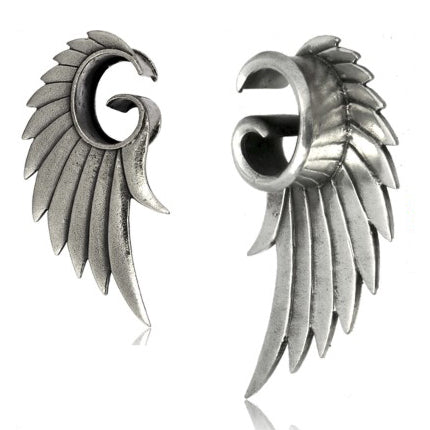 White Brass Angel Wing Tunnels