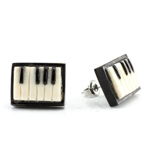 Keyboard Earrings by Urban Star