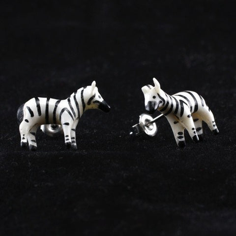 Zebra Earrings by Urban Star
