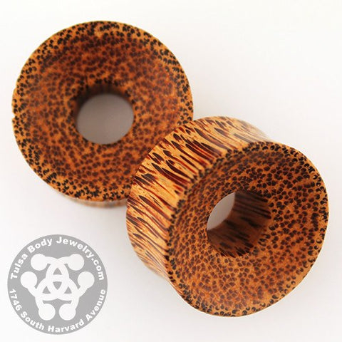 Coconut Palm Wood Thick Walled Tunnels by Siam Organics