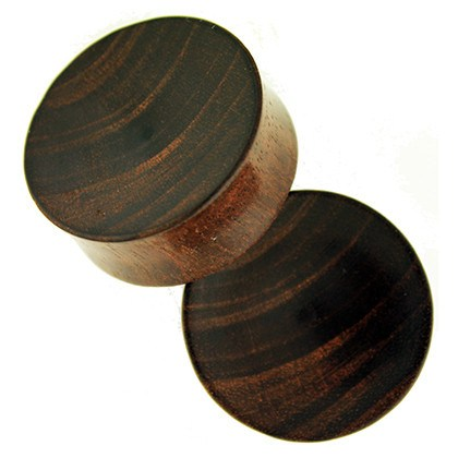 Dark Raintree Bowl Plugs by Siam Organics