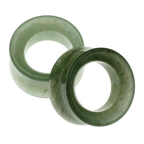 Plugs - Green Aventurine Tunnels By Diablo Organics
