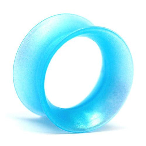 Plugs - Sea Blue Pearl Skin Eyelets By Kaos Softwear