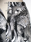 Safari Exotic Animals Printed Maxi Skirt - IDILVICE Clothing - 4