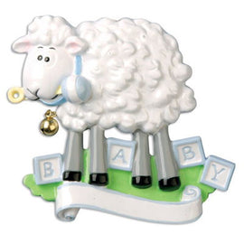 BABY SHEEP-BLUE
