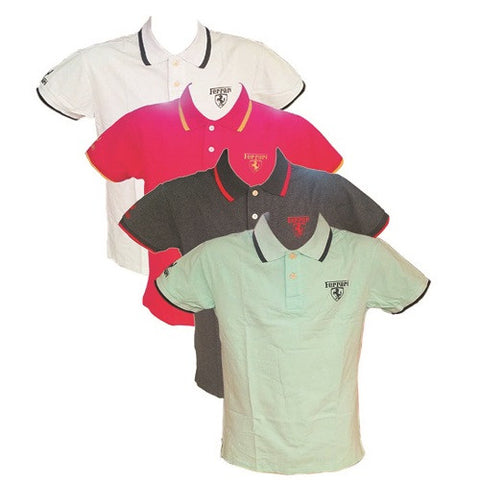 4-in-1 Bundle Ferrari Men Polo Shirt L-XL Multicolor