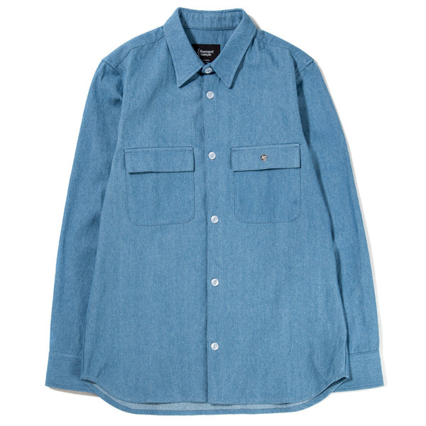 Style code 4023F18LTD. {ie Work Shirt / Light Denim