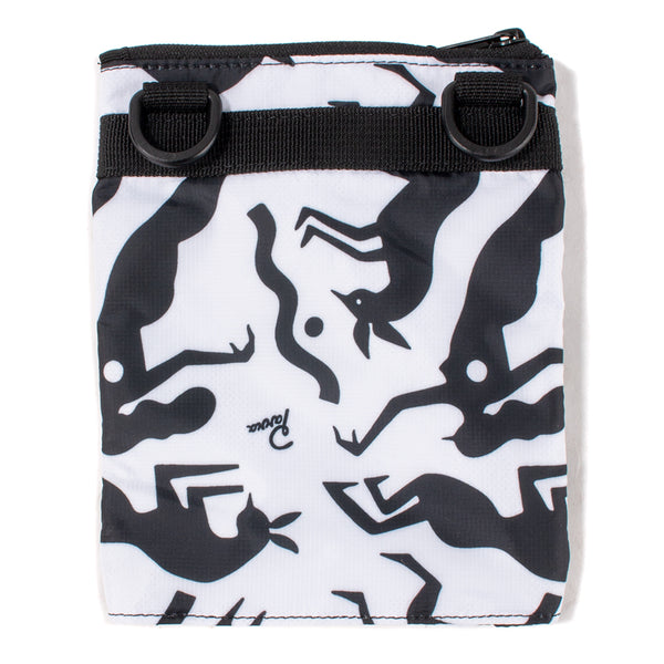 42610S19 by Parra Workout Woman Horse Pouch / White