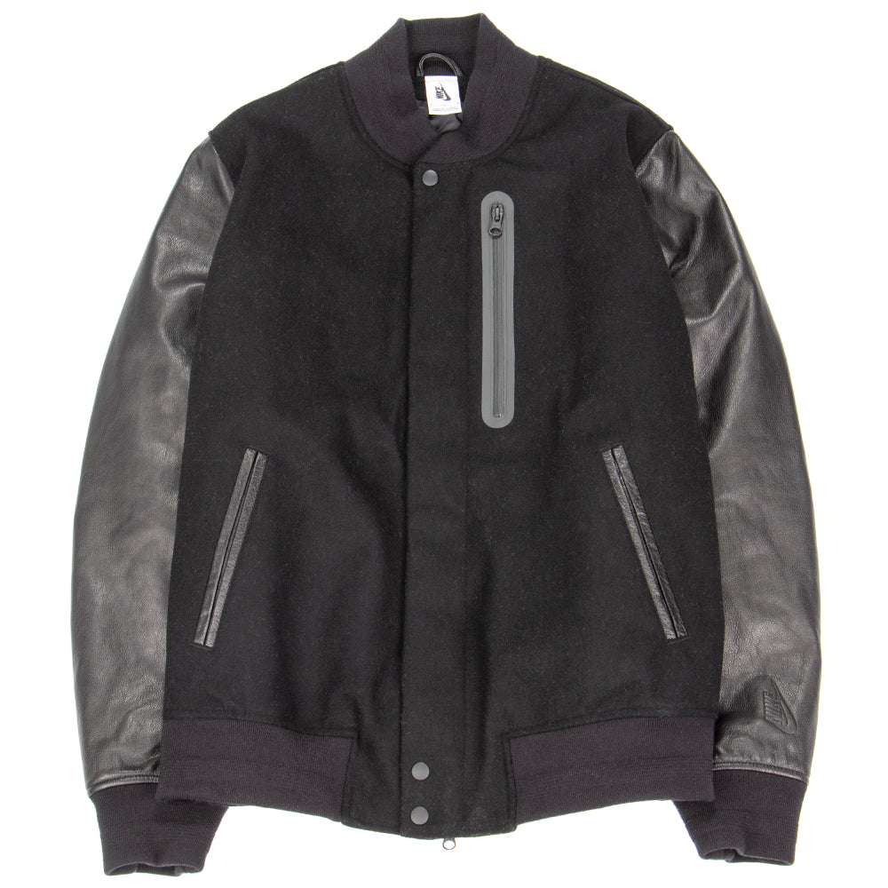 Style code 908644-010. NikeLab Essentials Destroyer Jacket / Black