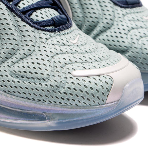 AR9293-001 Nike Women's Air Max 720 Metallic Silver / Midnight Navy