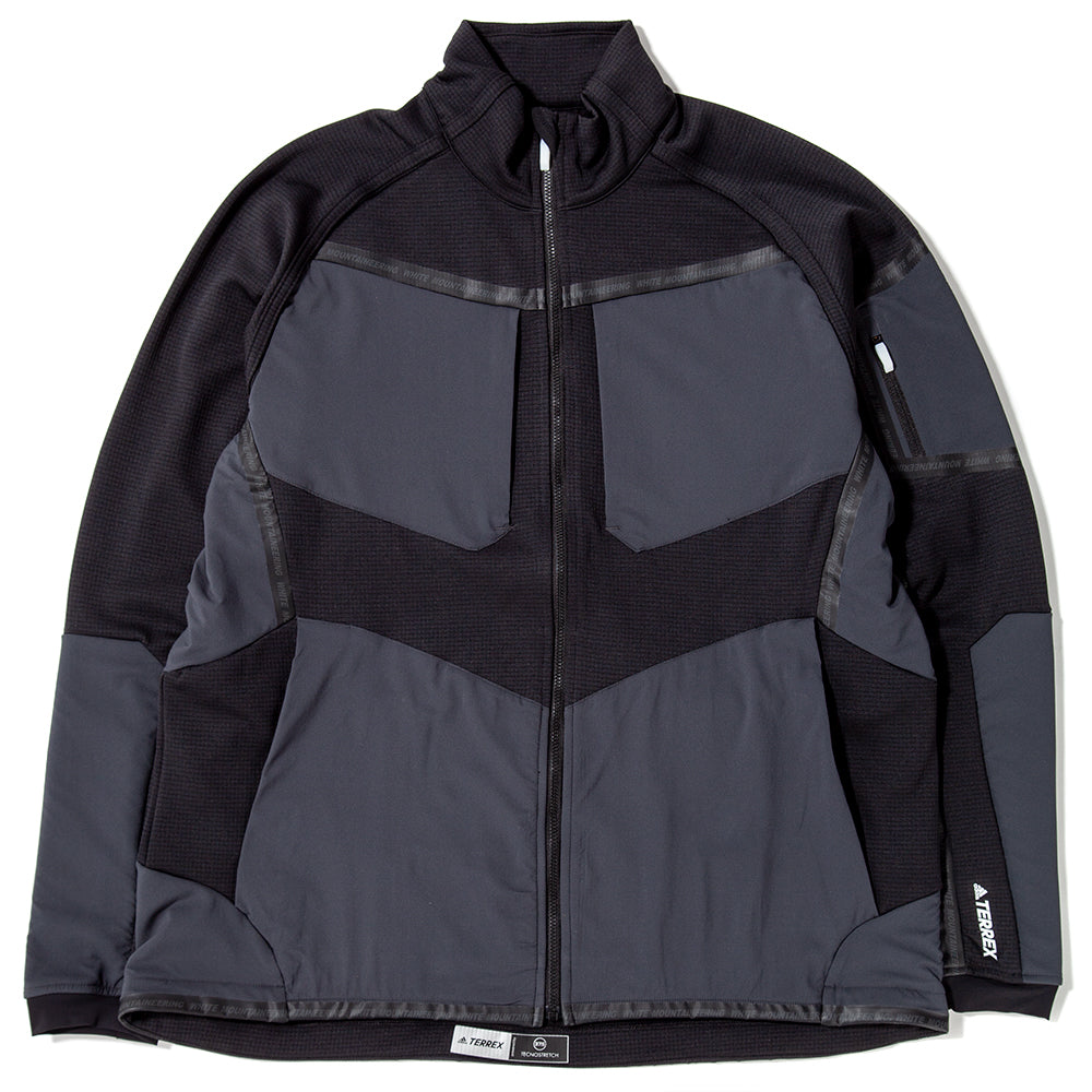 Style code DU0811. adidas by White Mountaineering Stockhorn Jacket / Black