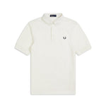 Fred Perry Oxford Trim Piqué Polo Shirt<p>White