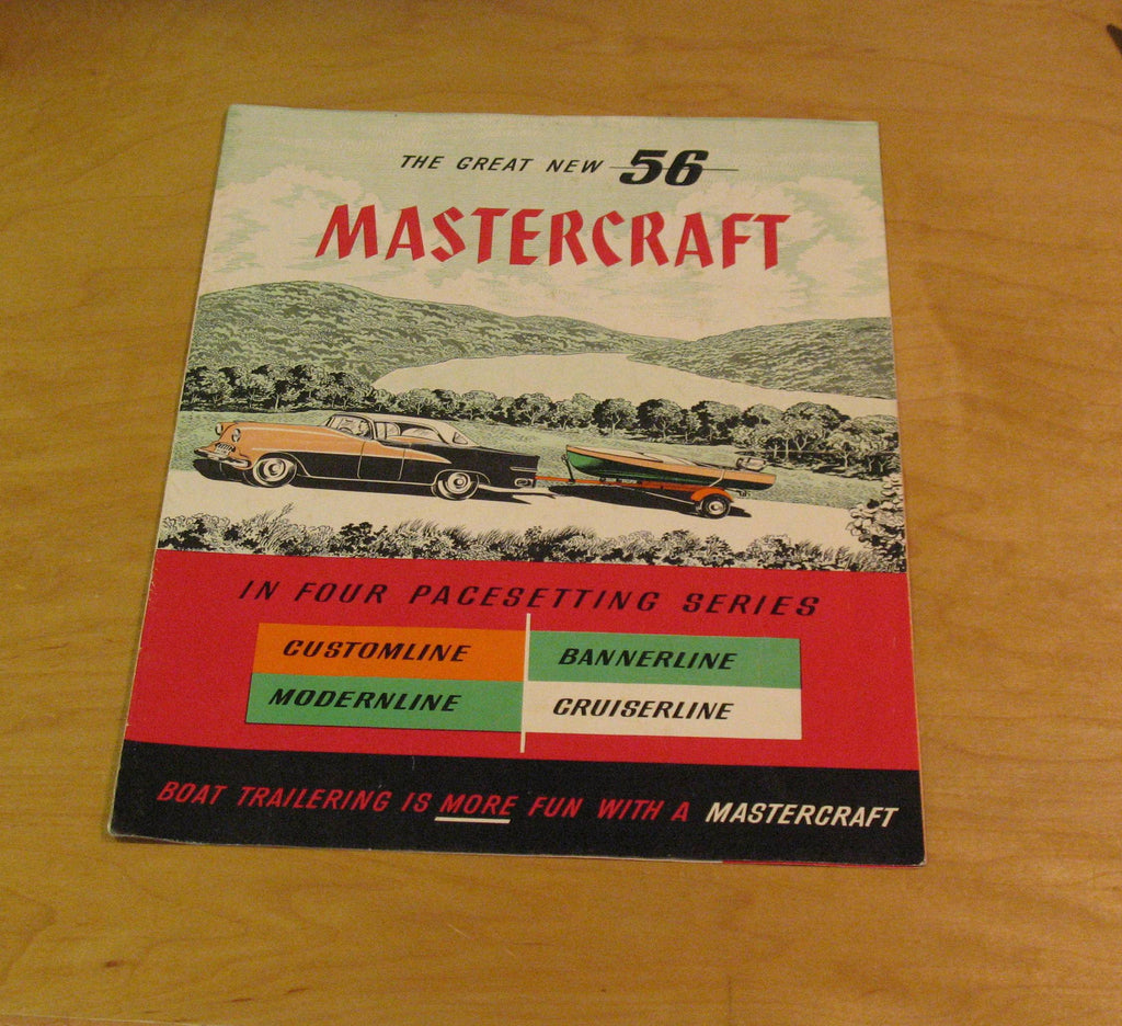 Mastercraft trailer brochure