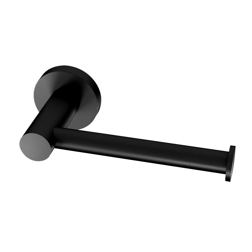 Phoenix Tapware Radii Toilet Roll Holder (Round) (Matte Black) RA892MB