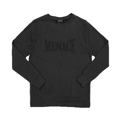 MENACE LOGO TONAL FRENCH TERRY CREWNECK