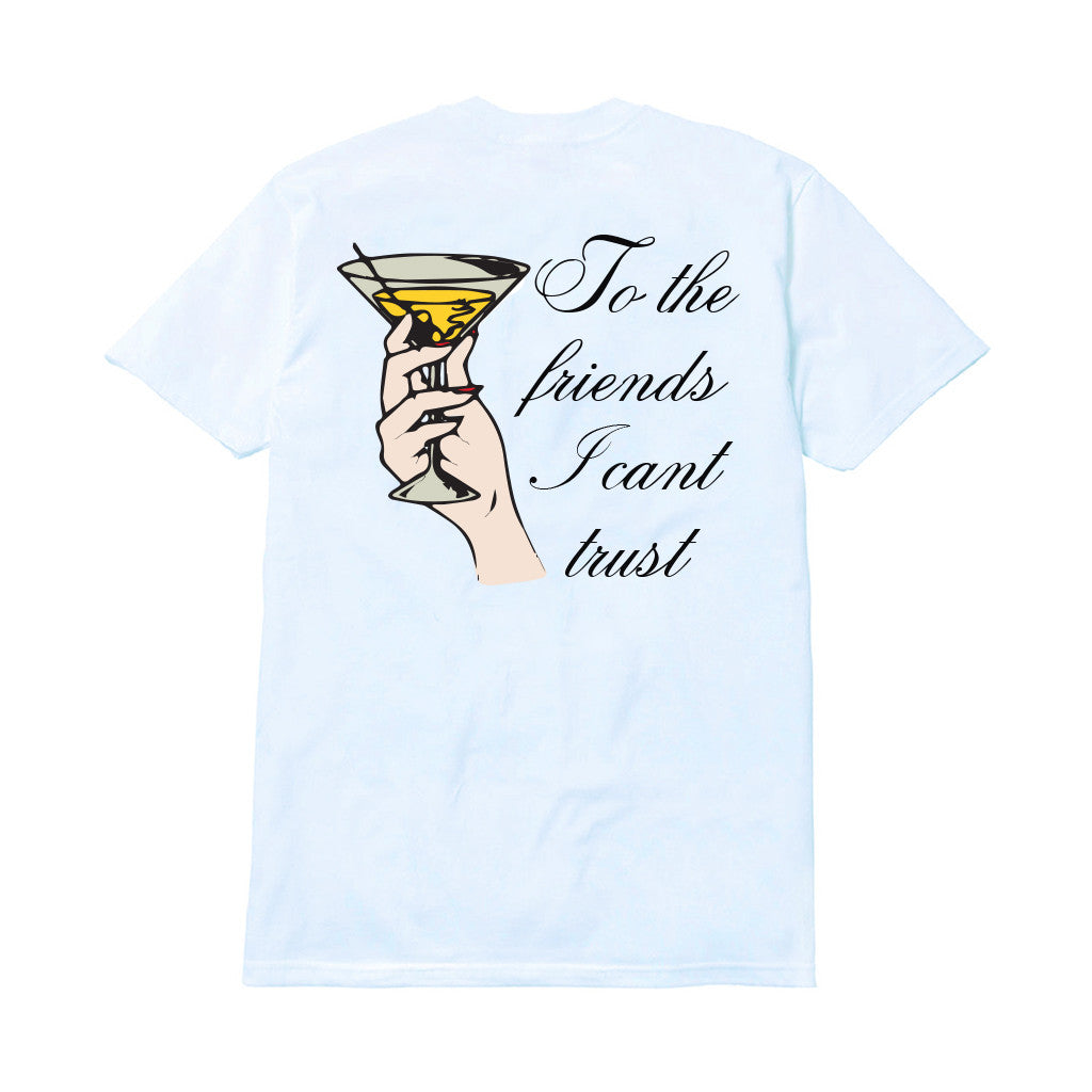 FRIENDS I CAN'T TRUST T-SHIRT T-Shirt MENACE Los Angeles Streetwear Clothing