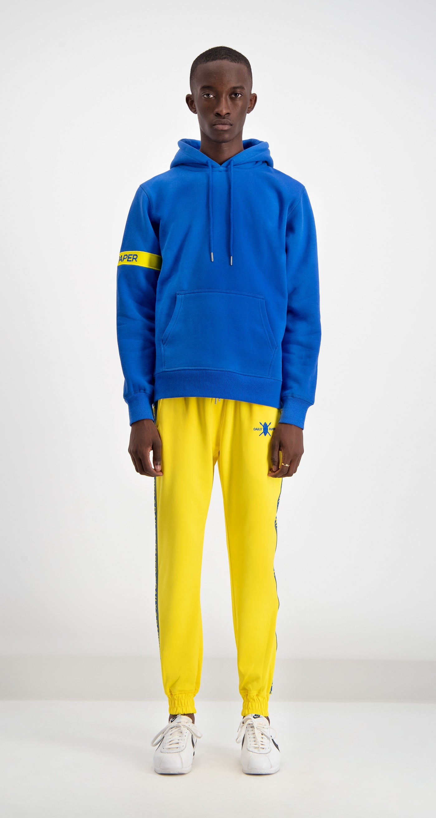 Daily Paper - Blue/Yellow Captain Hoody