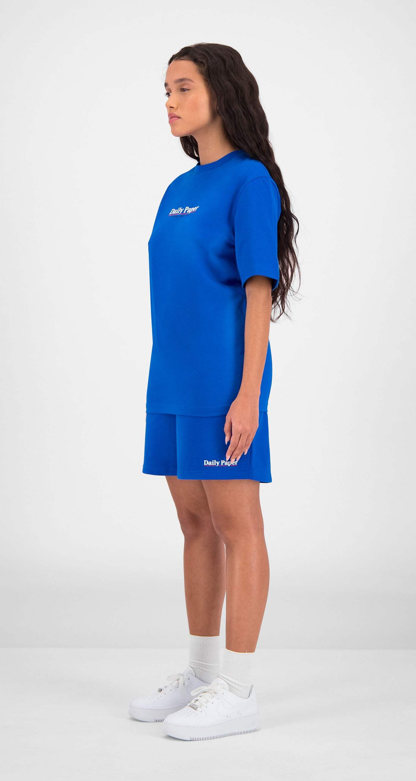 Daily Paper - Blue Essential T-Shirt Women