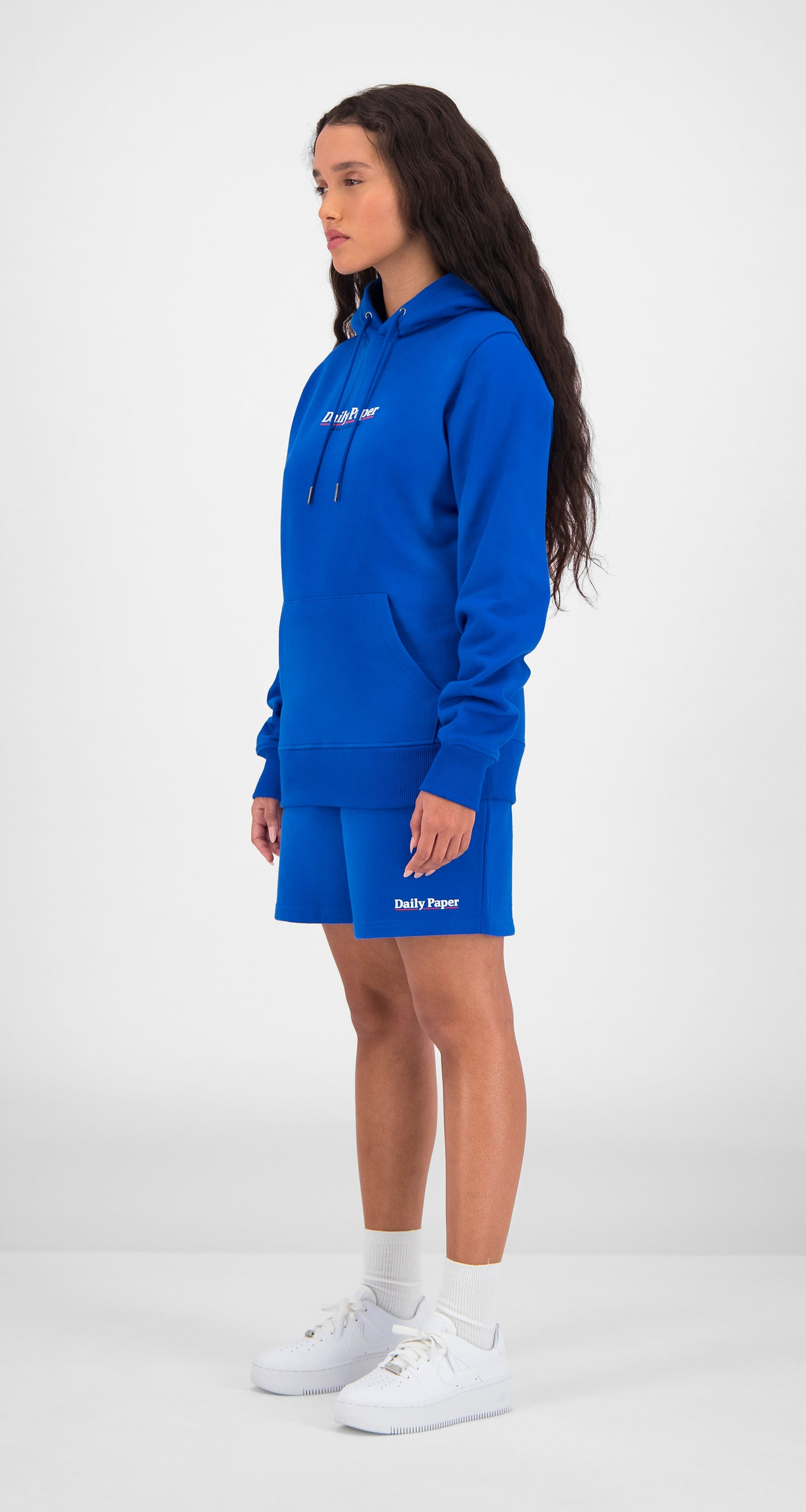 Daily Paper - Blue Essential Hoody Women