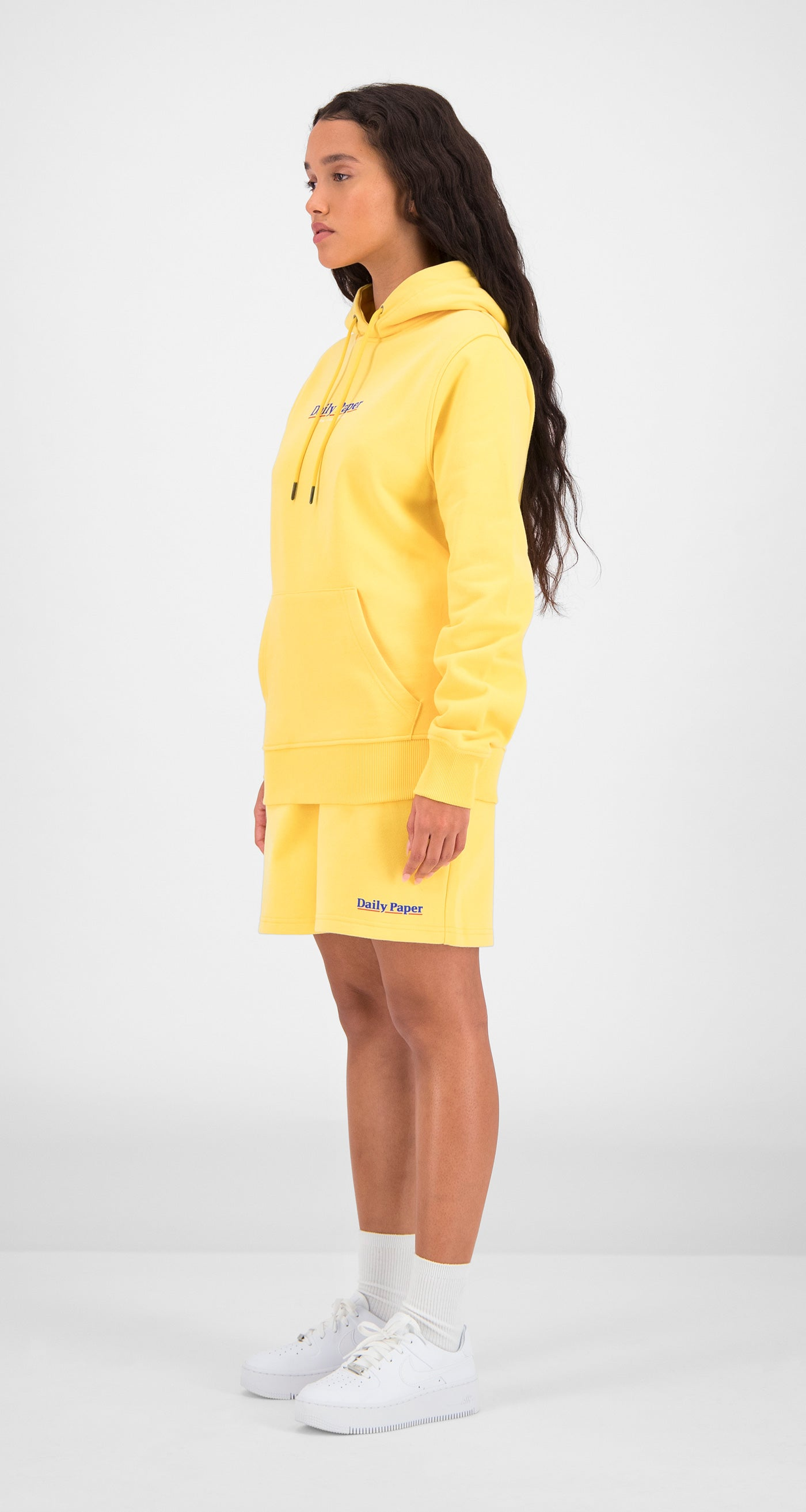 Daily Paper - Yellow Essential Hoody Women