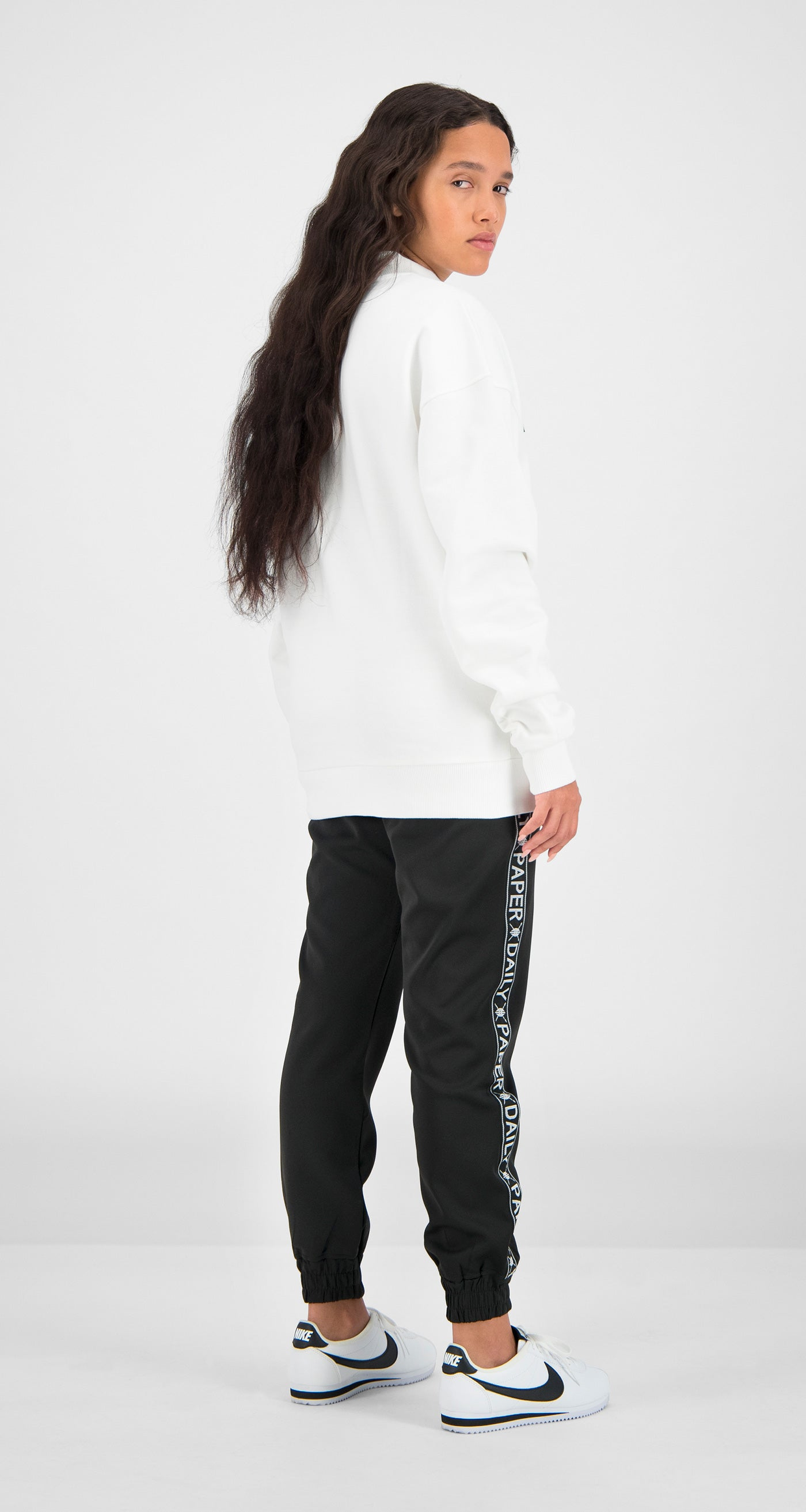 Daily Paper - White Essential Sweater Women Rear