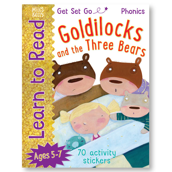 Get Set Go Learn to Read: Goldilocks and the Three Bears