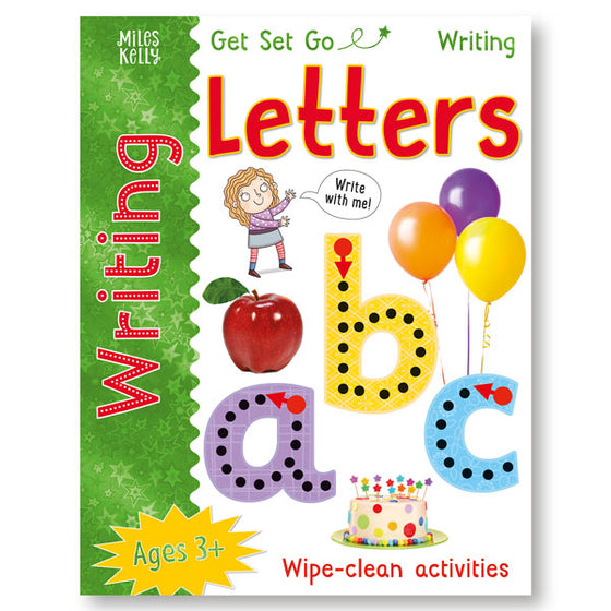 Get Set Go Writing: Letters