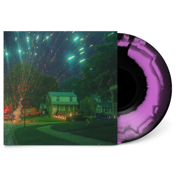 Starry Night Over the Phone Vinyl (Purple and Black)