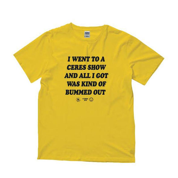 Bummed Out Tee (Yellow)