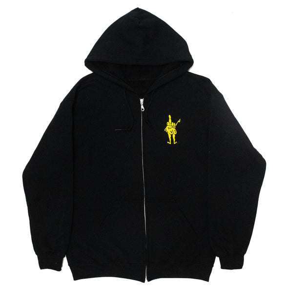 Noise Complaints Zip Hood (Black)