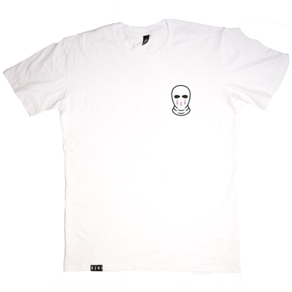 Remi Official Merch - Balaclava Tee (White)