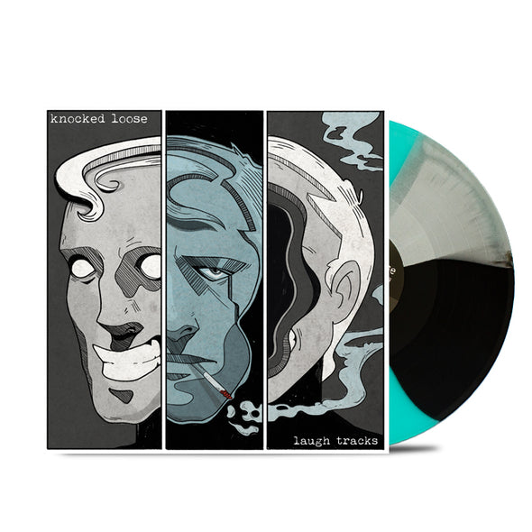 "Laugh Tracks 12"" Vinyl (Tri- Colour Grey/Black/Teal) // PREORDER"